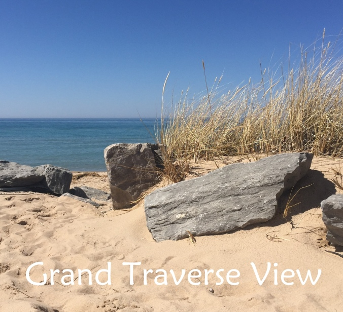 View of Lake Michigan from the Grand Traverse area.
