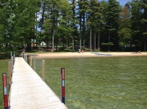 Long Lake dock in Grand Traverse County