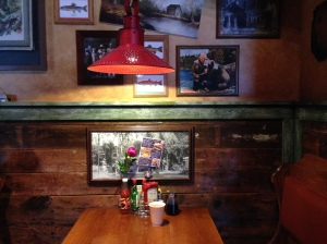 Booth at Bud's of Interlochen