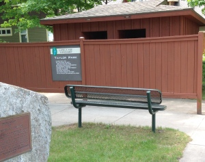 Long Lake Taylor Park Public Beach public restroom outhousel