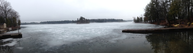 Panorama of Spider Lake