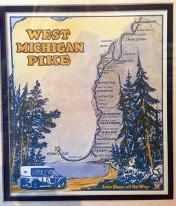 Historical map Glen Haven Museum