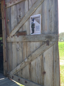 Glen Haven Historical Barn Door