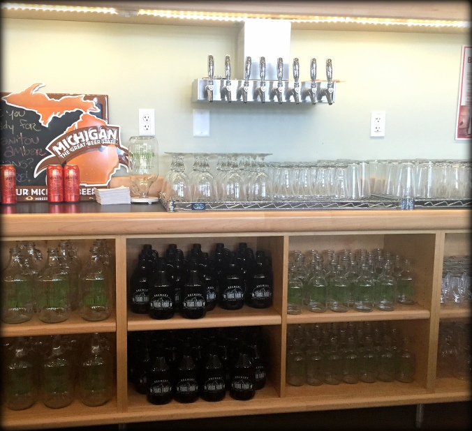 Grand Traverse View's list of things to do in Traverse City, Michigan Breweries-Terra Firma!