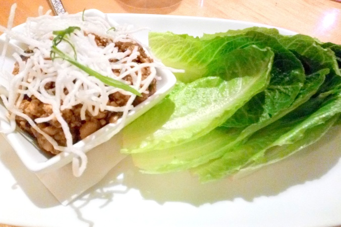 Lettuce Wraps at Red Ginger in Traverse City